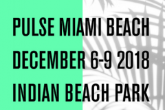 PULSE CONTEMPORARY ART FAIR Tsoku Maela & Nigatu Tsehay Christopher Moller Gallery INDIAN BEACH PARK 4601 COLLINS AVENUE, MIAMI BEACH, FL 33140