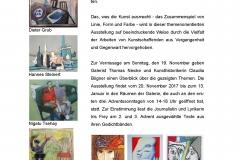 Über_Blick<br />Kunst_im_Visier<br />Galerie KEIM